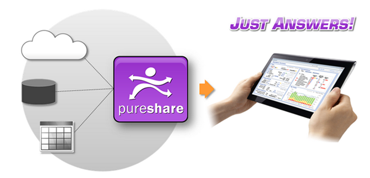PureShare Delivers Just Answers Dashboards